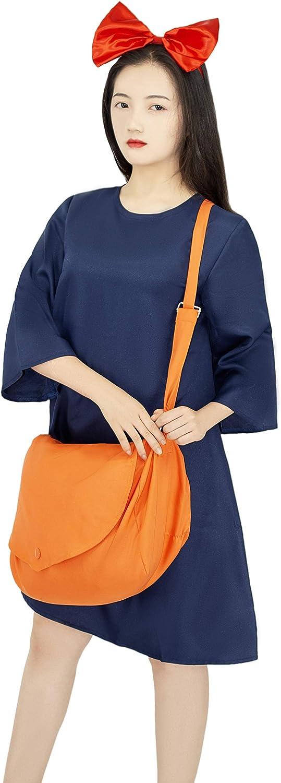 未使用 Anime 開催中 Cosplay Costume for Witch Kikis Dress Bag Slee with Medium