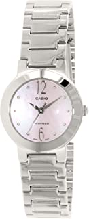 Casio watch with Movement Japanese Quartz Movement LTP-1191 A-4 A1 Silver 26 mm
