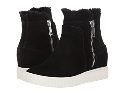 STEVEN NEW YORK Bamby (Black Suede) Women