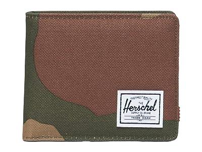Herschel Supply Co. Roy Coin RFID (Woodland Camo) Wallet Handbags
