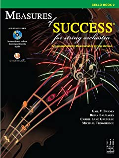 Measures of Success for String Orchestra - Cello Book 2
