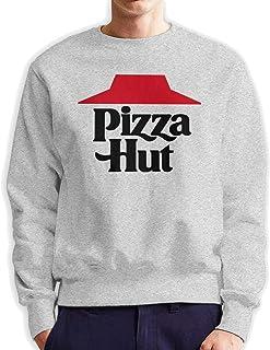 Wozinber Pizza Hut Comfortable Sweatshirt Man Sweater Leisure Hoodie