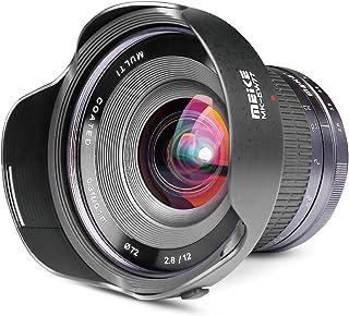 Meike 12mm F2.8 Ultra Wide Angle Manual Focus Lens for Sony E Mount APS-C Mirrorless Cameras NEX 3 5T NEX 6 7 A6400 A6600 ...
