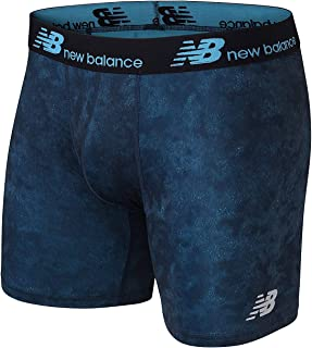 New Balance Mens Dry Fresh No Fly Boxer Brief (Pack of 1)