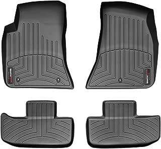 WeatherTech Custom Fit FloorLiner for Dodge Challenger - 1st & 2nd Row (Black)