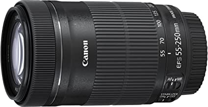 Canon EF-S 55-250mm f/4-5.6 IS STM Telephoto Zoom Lens...