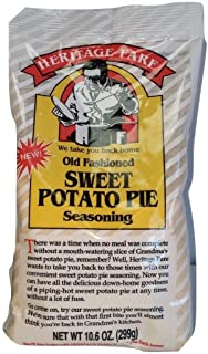 Heritage Fare Potato Pie Seasoning, 10.6-Ounce (Pack of 6)