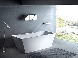 "Carver Tubs - Kaskade 71"" Freestanding Soaking Bathtub 71″L x32"