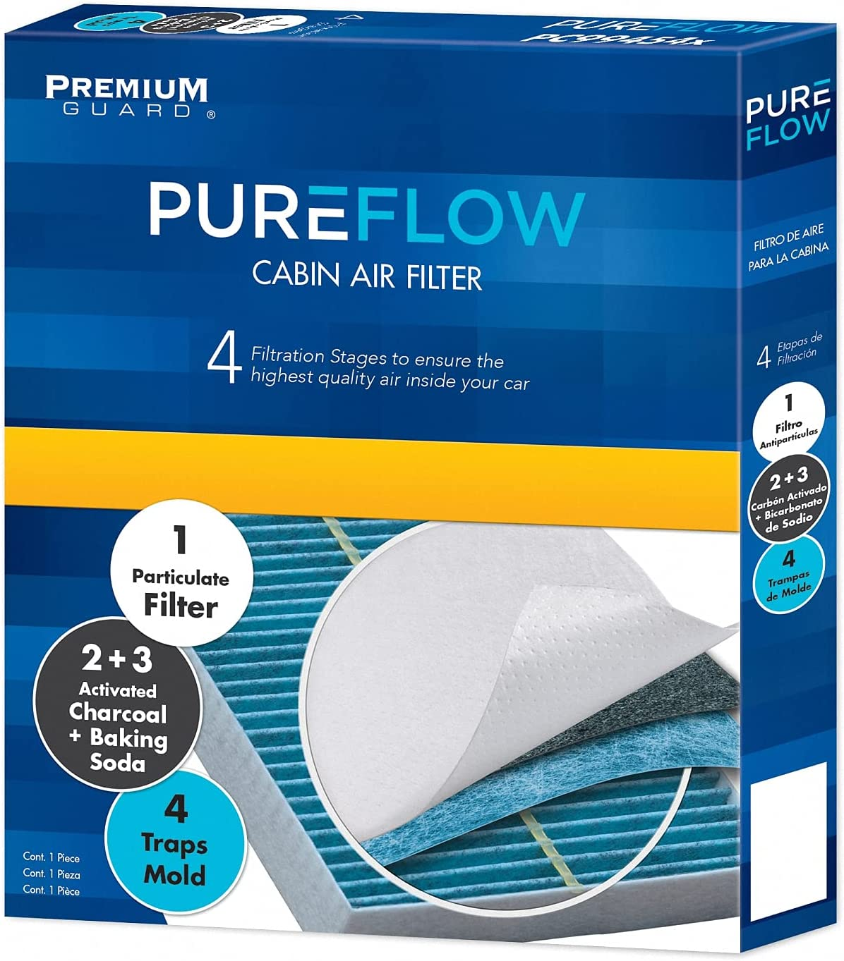 Houston Mall Pureflow Cabin Air Filter Access Dedication and PC6205K kit Door F