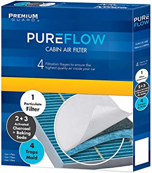 Amazon Com Pureflow Cabin Air Filter Pc5844x Fits 2010 15 Mercedes Benz Glk350 2011 16 E350 2008 14 C300 2010 15 C250 2012 18 Cls550 2013 15 Glk250 2013 20 Sl550 Automotive