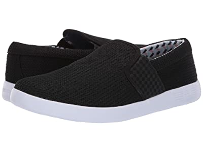 Ben Sherman Parnell Gingham Slip-On (Black) Men