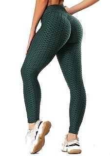 INSTINNCT Damen Slim Fit Hohe Taille Sportshort Lange Leggings mit Bauchkontrolle