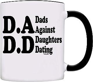 Mug D.A.D.D Dads Against Daughters Dating Coffee Mug 11 oz. Black 0011-2