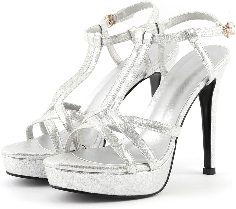 GO-SAMSARA heels Synthetic Basic Casual Sandalias Women Fashion High Heel Sandals LY745