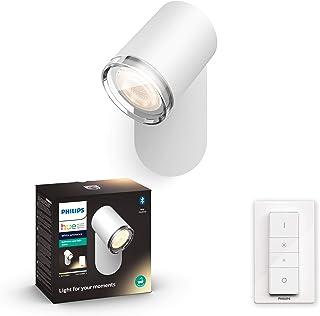 Philips Hue White Amb. Adore Spot 1 flg. biały 350lm przełącznik ściemniacza