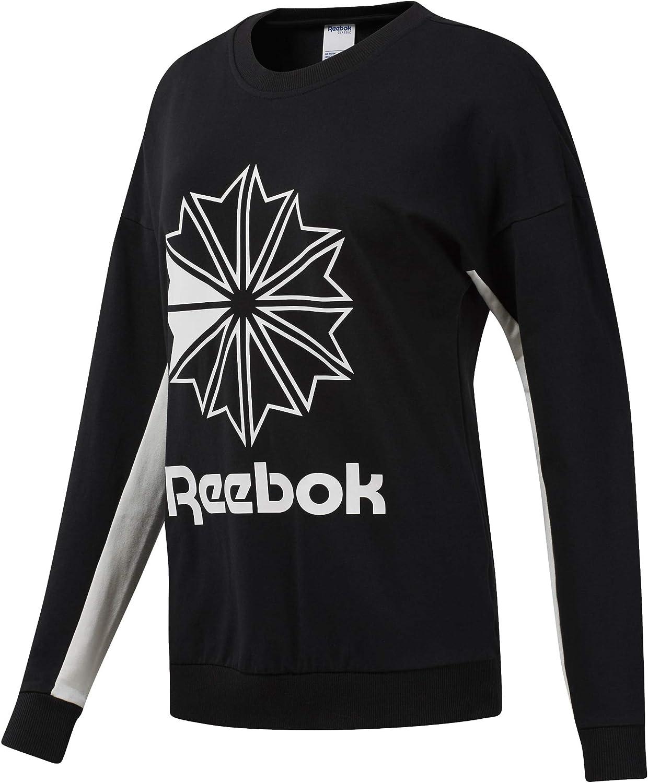 Reebok Women's Classics Big Logo Graphic Super-cheap Sweatshirt Daily bargain sale