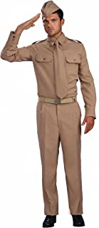 Men's Combat Heroes Ww2 Private Soldier Costume