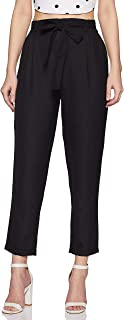 BESIVA Women's Straight Fit Pants