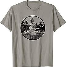 Rabbit Hunter T-Shirt, Armed Bunny With Gun Tee Apparel