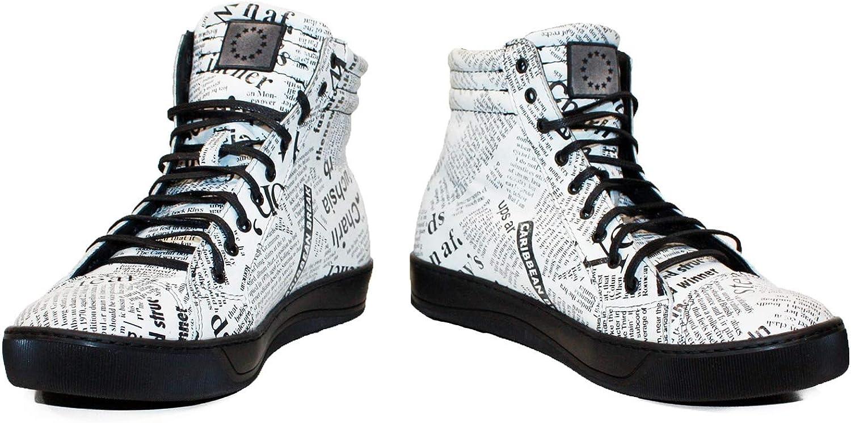 Peppeschuhe Modello Newserro - Handgemachtes Italienisch Bunte Herrenschuhe Lederschuhe Herren Wei Mode Turnschuhe Lssige Schuhe - Rindsleder Weiches Leder - Schnüren