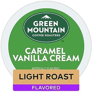 Green Mountain Coffee Roasters Caramel Vanilla Cream, Single-Serve Keurig K-Cup Pods,..