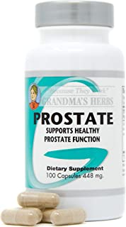 Grandma's Herbs Prostate - All Natural Herbal Supplement for Men - Supports Urinary Tract Function & Health - Made in The ...
