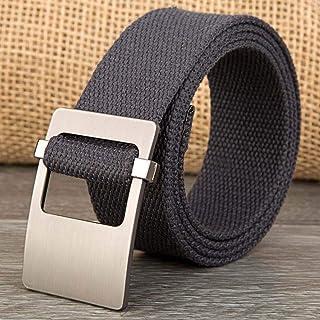 TEAMMAO Uomo Cintura Tattica Nylon Militare Tessere Cintura Dimensioni Regolari e Grandi 110CM-180CM Casuale allaria Aperta Caccia Automatico Fibbia in Metallo Cintura 3.8CM Men Belt