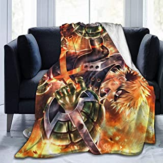 "Magicuas Kachann BNHA Blanket Sherpa Throw Blanket Flannel Fleece Couch Quilted Blankets for Kids Adults for Thanksgiving Halloween 80""x60"""