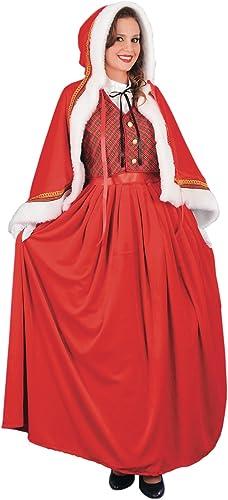 Miss Santa Kleid Kostüm Nikolaus Damen Weißnachten, Luxe