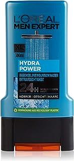 L'Oréal Paris Expert Hydra Power Mountain Water 3-i-1 Duschgel för Män, 300 ml
