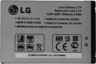 LG LGIP-400N 1500 mAh Battery for LG Optimus GT540 / Optimus C LW690 / Optimus M MS690 / Optimus T P509 / Optimus S LS670 / Optimus U US670 / Optimus V VM670 / Optimus One P500 / Optimus One P503 / Puccini GT500S / Phoenix p505 / Thrive p506 / Genesis us760 / GX500 / GM750 / P520 / P525