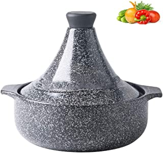 Tajines Cerámica, Hecho A Mano Olla Le Creuset Marruecos Para Cocinar Y Guisar La Cacerola De Cocción Lenta,MaifanStoneØ25cm