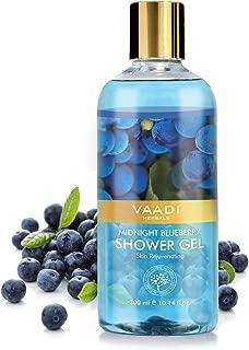Vaadi Herbals Shower Gel, Midnight Blueberry, 300ml