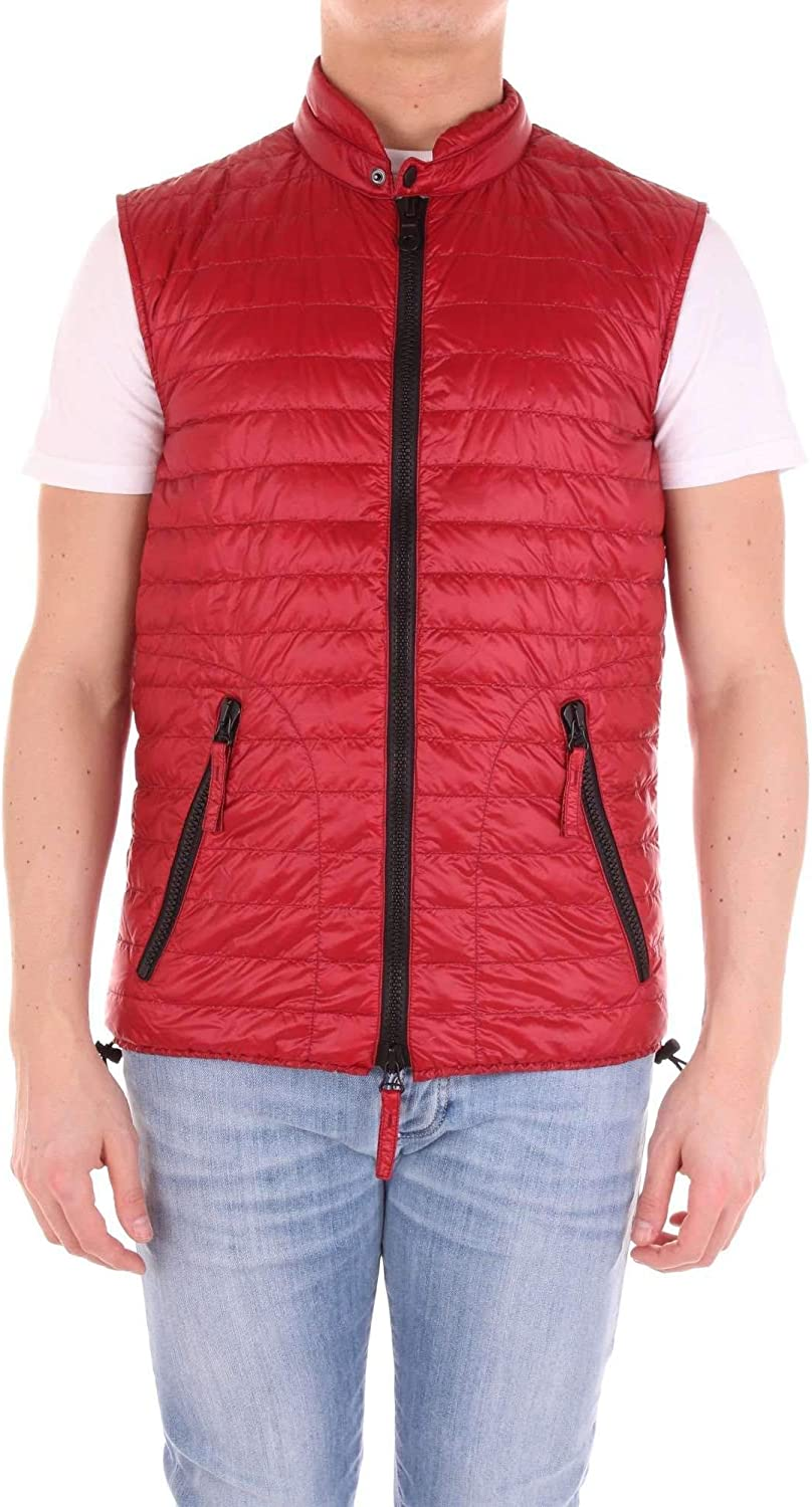 DUVETICA Men's 3775001091RED Red Polyamide Down Jacket