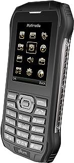Plum Ram 6 - Rugged Unlocked Cell Phone GSM Shock Water Proof IP 68 Certified Military Grade Camera Flash Light FM Radio Bluetooth SD Card Slot Dual Sim - Black