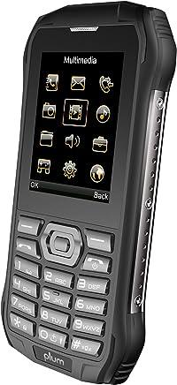 $39 Get Plum Ram 6 - Rugged Unlocked Cell Phone GSM Shock Water Proof IP 68 Certified Military Grade Camera Flash Light FM Radio Bluetooth SD Card Slot Dual Sim - Black