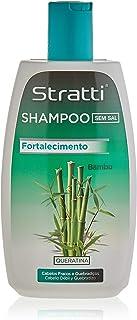 Stratti Bambú - Champú Vitalidad y Resistencia con Keratina sin Sal - 400 ml