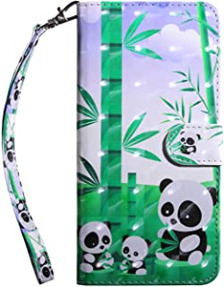 Bear Village® Huawei Mate 10 Lite Case, PU Leather Book Style Cover with Card Slots, 3D Pattern Design Wallet Flip Case for Huawei Mate 10 Lite (#10 Panda)
