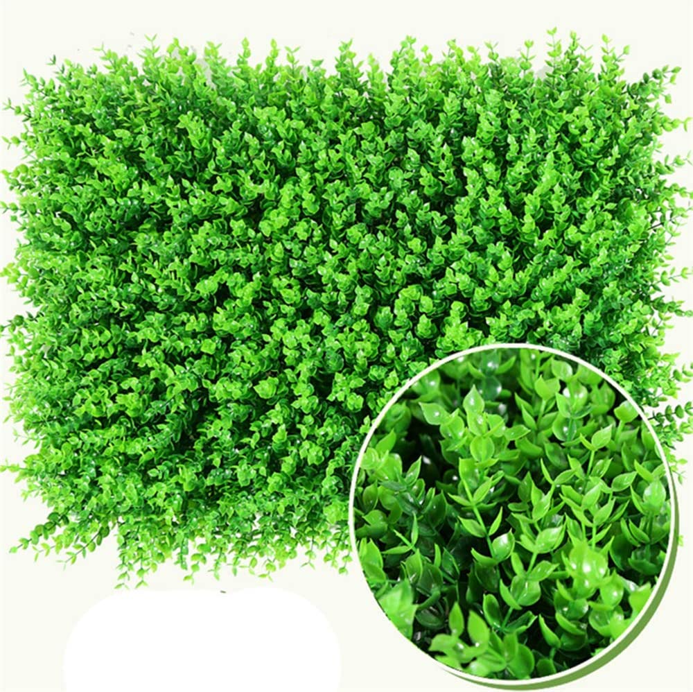discount Artificial Super intense SALE Boxwood Panels Topiary Hedge Privacy 12P Screen Plant