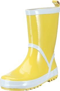 Playshoes Stivaletti Pioggia-Basic, Stivali di Gomma Naturale Unisex-Bambini
