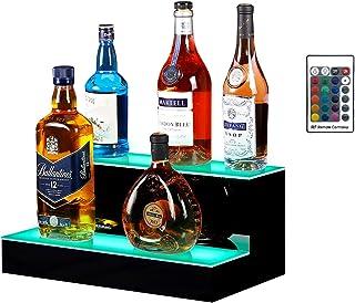 Boss Premium 16 Inch LED Lighted Bar Liquor Bottle...