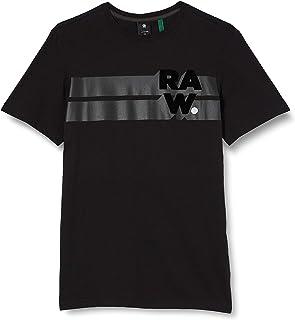 G-STAR RAW Men's Raw Stripe Graphic T-Shirt