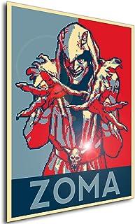 Instabuy Poster - Propaganda - Pixel Art - Golden Axe The Duel - Zoma A4 30x21