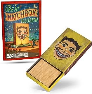 Magic Makers The Match Box Penetration Magic Trick