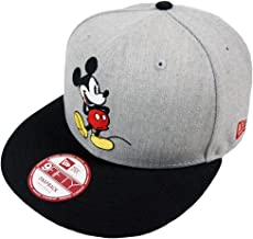New Era Mickey Mouse CL Grey Snapback Cap M L 9fifty Special Limited Edition