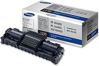 Samsung MLT-D119S ML-1610 2010 2510 2570 2571 SCX-4321 4521 Toner Cartridge (Black) in Retail Packaging