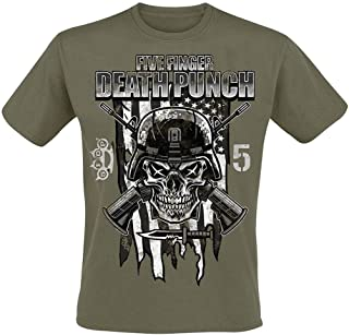 Five Finger Death Punch Men's Infantry Special Forces T-Shirt