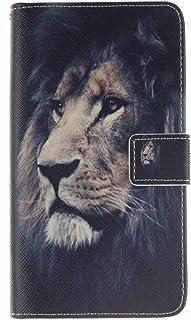 130b0c73def 640 XL Funda, Lumia 640 XL Funda, SATURCASE Cuero De La PU Magnético  Capirotazo