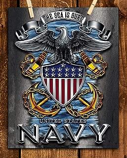U.S. Navy Eagle Emblem Poster Print-8 x 10