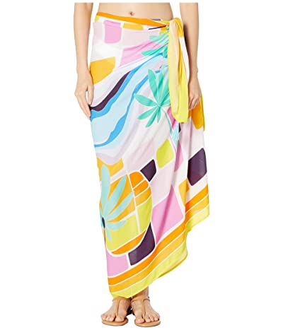 Trina Turk Mosaic Sunrise Pareo Cover-Up (Multi) Women